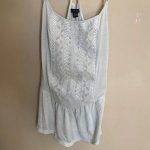 American Eagle Embroidered Tank
